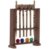 Miniature Croquet Set