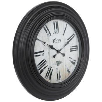 Dark Antique Brown Wall Clock