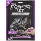 Turtles Holographic Foil Engraving Art Kit