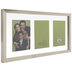 Gold Float Collage Wood Wall Frame
