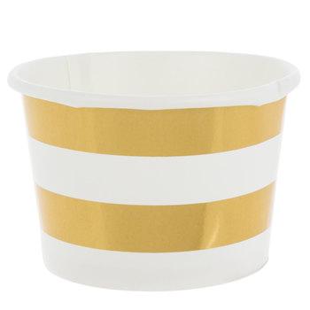 Striped Snack Bowls