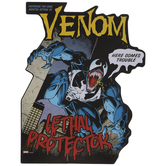 Venom Comic Cover Wood Wall Decor