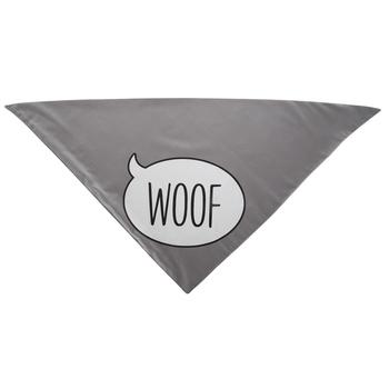 Gray Woof Pet Bandana