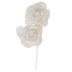 Ivory Lace Flower Pick