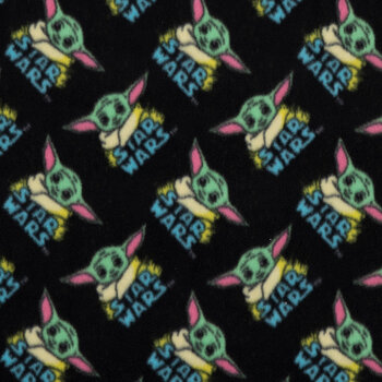 Star Wars Baby Yoda Fleece Fabric