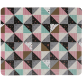 Patterned Quilt Mouse Pad