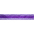 Purple Solid & Striped Wired Edge Satin Ribbon - 2 1/2