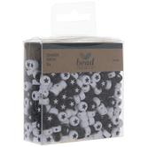 Black & White Star Beads