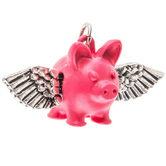 When Pigs Fly Charm
