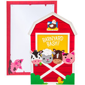 Barnyard Birthday Invitations