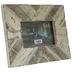 Chevron Plank Wood Frame - 6