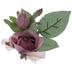 Mauve True Touch Rose Corsage