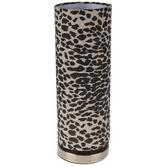 Leopard Print Uplight Lamp