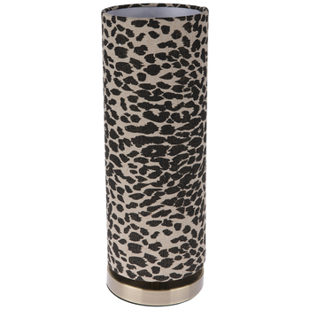 Leopard Print Uplight Lamp