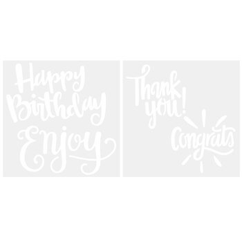 Occasions Cookie Stencils