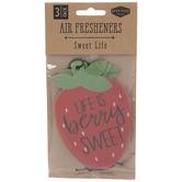 Berry Sweet Strawberry Air Fresheners