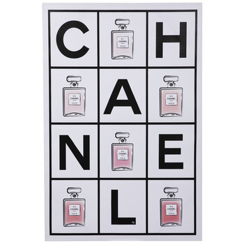 Perfume Canvas Wall Decor