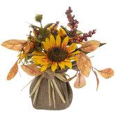 Sunflower & Berry Floral Arrangement