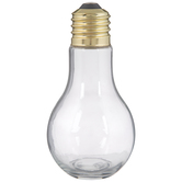 Light Bulb Glass Jar