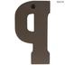 Galvanized Metal Letter Wall Decor- P