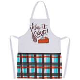 Whip It Good Plaid Apron