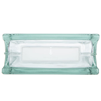"""Glass Block with Hole - 8"""" x 8"""""""