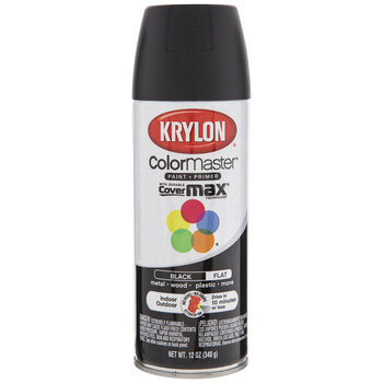 Krylon ColorMaster Flat Spray Paint & Primer