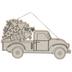 Fireworks Truck Wood Shape