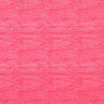 Pink Sponge Print Cotton Calico Fabric