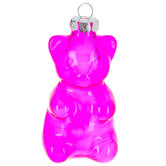 Pink Balloon Bear Ornament