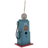 Route 66 Gas Pump Wood Birdhouse
