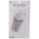 Coffee Confetti Shaker Sticker