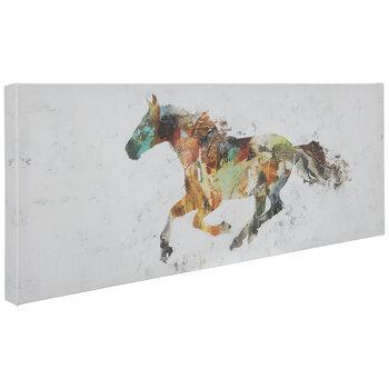 Multi-Color Horse Canvas Wall Decor