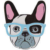 French Bulldog Painted Wood Shape