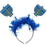 Hanukkah Menorah Headband