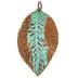 Hibiscus Leaf Pendant