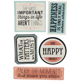 Family Phrases 3D Stickers