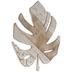 Patterned Leaf Wood Wall Decor