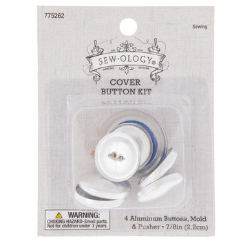 Cover Button Kit - 7/8""