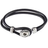 Black Mini Snap Bracelet