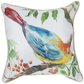 Bird On Branch Pillow