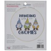 Hanging With My Gnomies Cross Stitch Kit