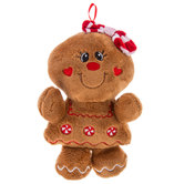 Scented Plush Gingerbread Girl