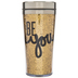 Be You Glitter Cup