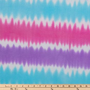 Tie-Dye Minky Fleece Fabric