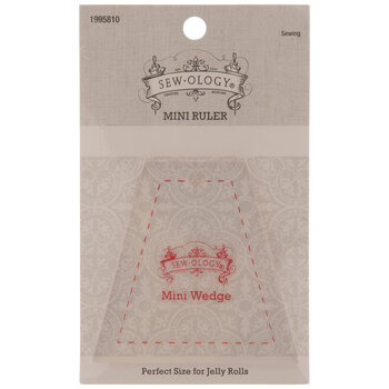 Mini Wedge Trapezoid Quilting Ruler