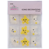 Lullaby Icing Decorations