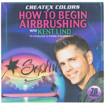 How To Begin Airbrushing (DVD)