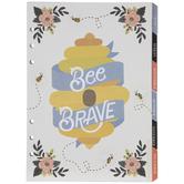 Bee Floral Undated Planner Insert - 12 Months
