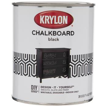 Krylon Black Chalkboard Paint